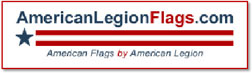 American Legion Flags
