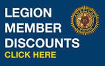 Legion Member Discounts